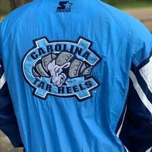 Vintage North Carolina Tar Heels starter jacket